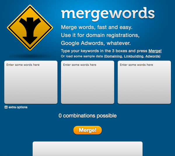 mergewords